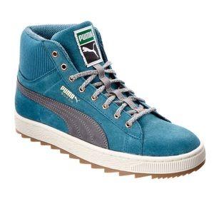 Puma Women's Winterized Rugged Suede Sneaker